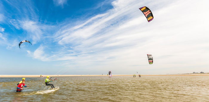 Kitesurfschool best spots