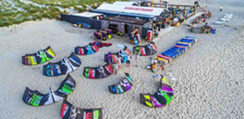 Kitesurfschool Gear